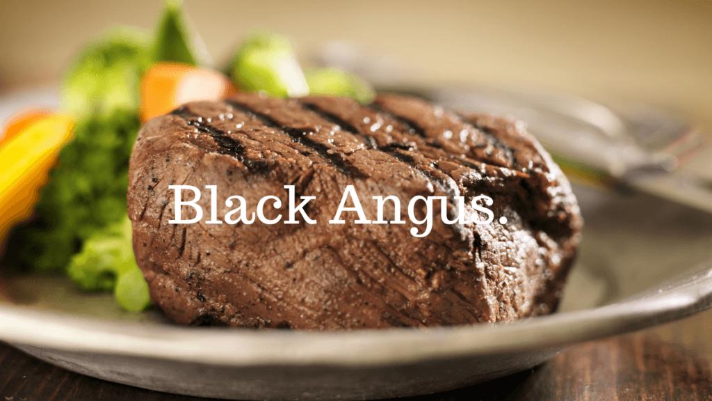 black angus