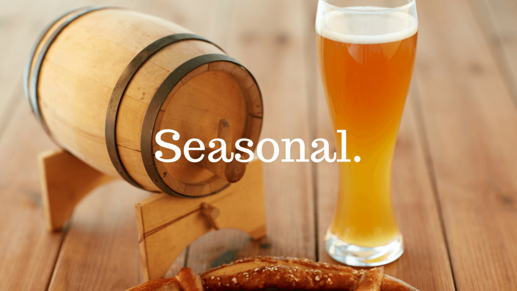 seasonal beer