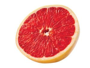 Red Texas grapefruit